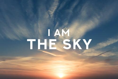 I am the sky Free Spirit